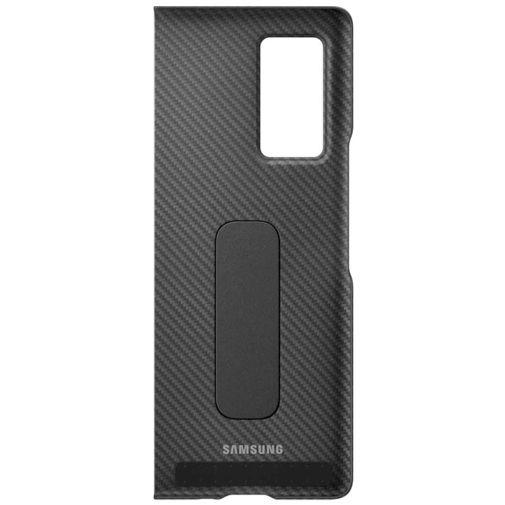 Productafbeelding van de Samsung Aramid Standing Cover Black Galaxy Z Fold 2