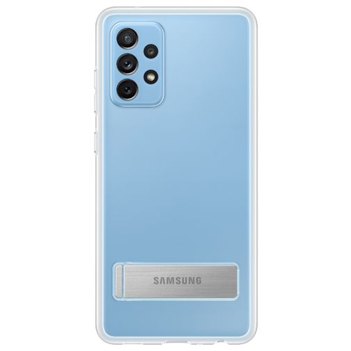Productafbeelding van de Samsung Clear Standing TPU Back Cover Transparant Samsung Galaxy A72