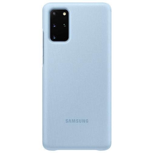 Produktimage des Samsung Clear View Cover Blau Galaxy S20+