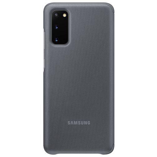 Productafbeelding van de Samsung Clear View Cover Grey Galaxy S20