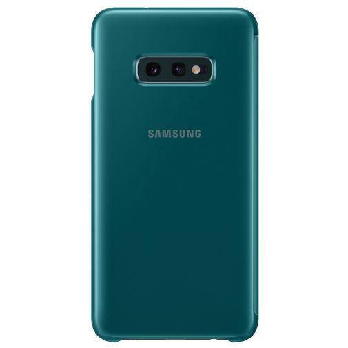 Produktimage des Samsung Clear View Cover Grün Galaxy S10e