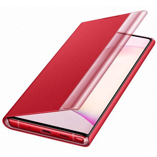 Produktimage des Samsung Clear View Cover Rot Galaxy Note 10