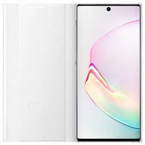 Produktimage des Samsung Clear View Cover Weiß Galaxy Note 10