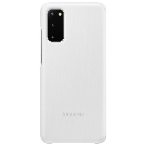 Productafbeelding van de Samsung Clear View Cover White Galaxy S20