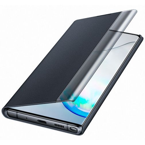 Productafbeelding van de Samsung Clear View Cover Black Galaxy Note 10+