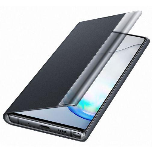 Produktimage des Samsung Clear View Cover Schwarz Galaxy Note 10