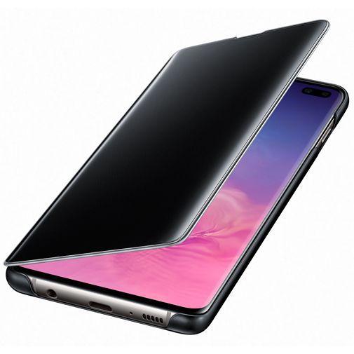 Productafbeelding van de Samsung Clear View Cover Black Galaxy S10+