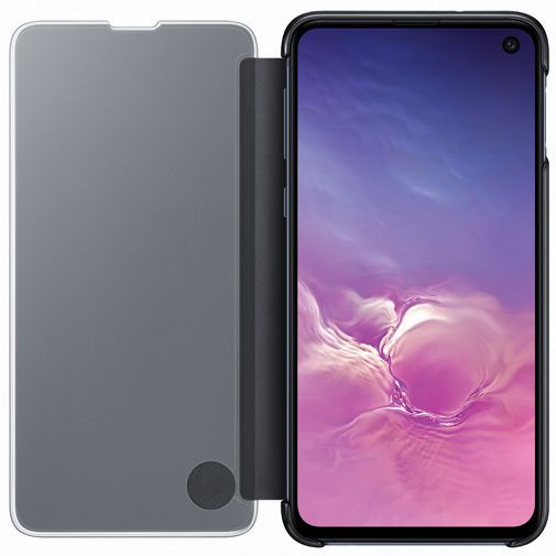 Productafbeelding van de Samsung Clear View Cover Black Galaxy S10e