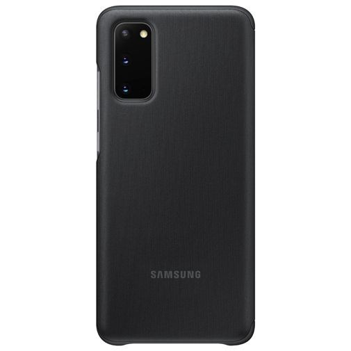 Productafbeelding van de Samsung Clear View Cover Black Galaxy S20