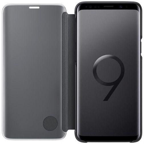 Productafbeelding van de Samsung Clear View Standing Cover Black Galaxy S9