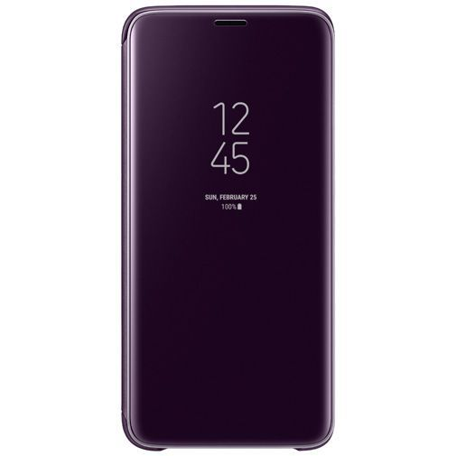 Productafbeelding van de Samsung Clear View Standing Cover Purple Galaxy S9