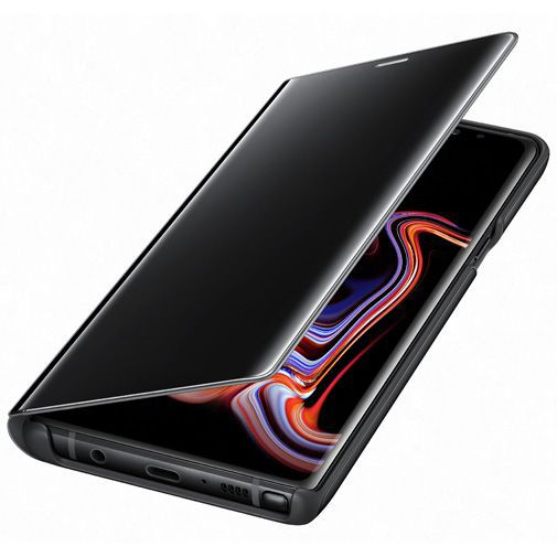 Produktimage des Samsung Clear View Standing Cover Schwarz Galaxy Note 9