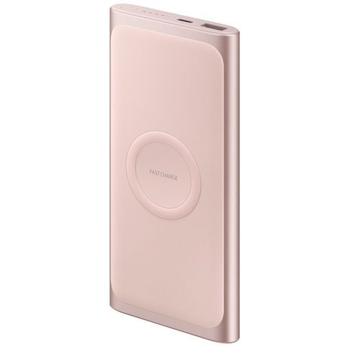 Produktimage des Samsung Wireless Powerbank 10.000mAh EB-U1200 Pink