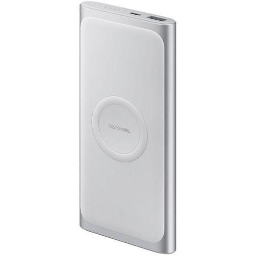 Productafbeelding van de Samsung Draadloze Powerbank 10.000mAh EB-U1200 Silver