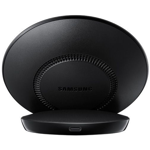 Produktimage des Samsung Wireless Fast Charger Stand EP-N5100 Black