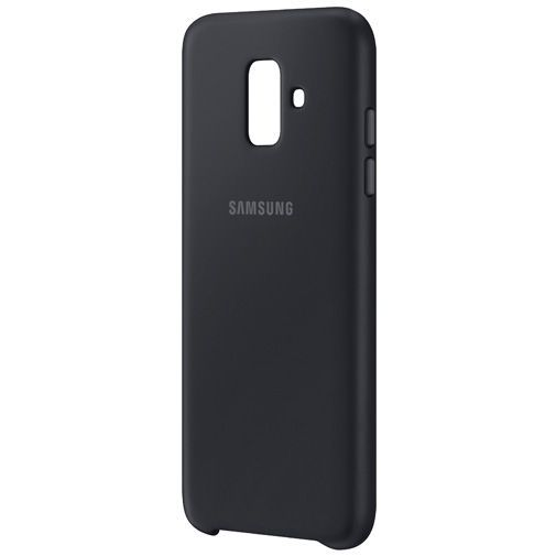 Productafbeelding van de Samsung Dual Layer Cover Black Galaxy A6