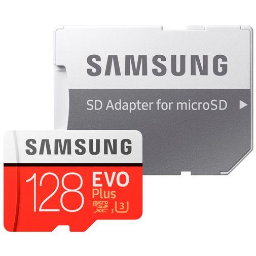 Productafbeelding van de Samsung Evo+ microSDXC 128GB + SD-Adapter (2020)