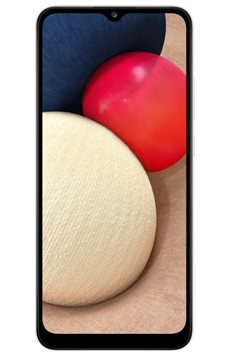 Product image of the Samsung Galaxy A02s 32GB White