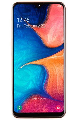 Productafbeelding van de Samsung Galaxy A20e Coral