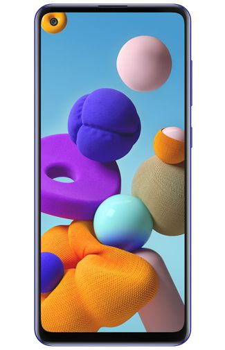 Product image of the Samsung Galaxy A21s 32GB Blue