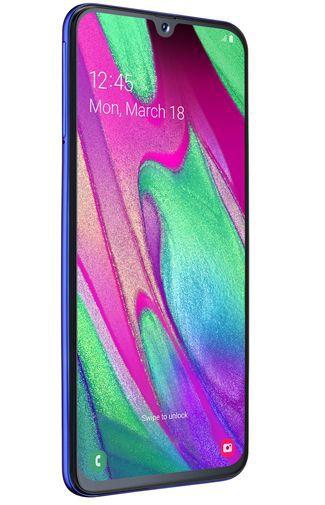 Productafbeelding van de Samsung Galaxy A40 Blue