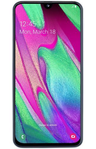 Productafbeelding van de Samsung Galaxy A40 White