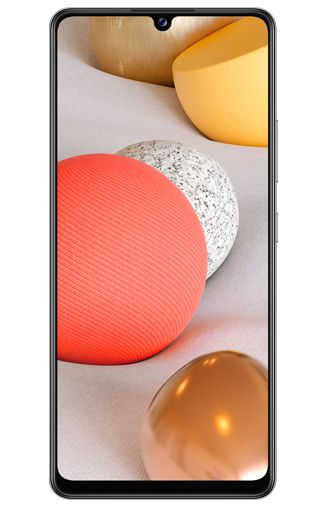 Product image of the Samsung Galaxy A42 5G White