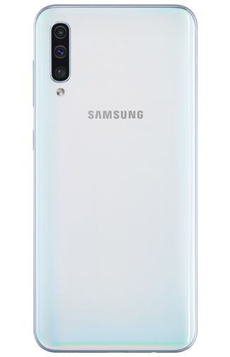 Product image of the Samsung Galaxy A50 White