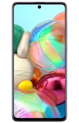 Product image of the Samsung Galaxy A71 Silver