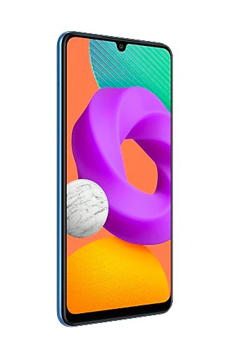 Product image of the Samsung Galaxy M22 128GB Blue
