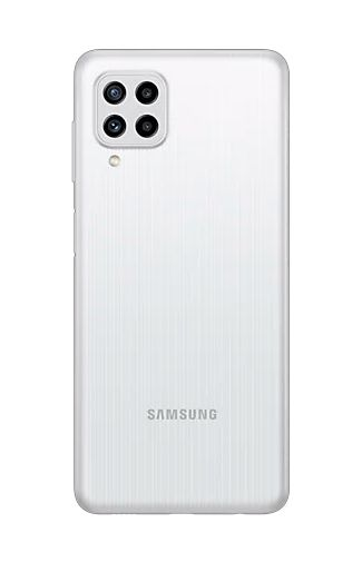 Product image of the Samsung Galaxy M22 128GB White