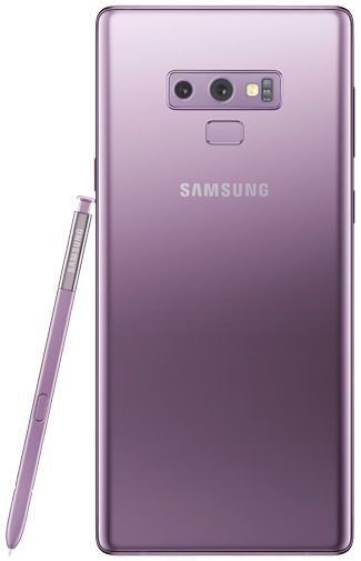 Product image of the Samsung Galaxy Note 9 128GB N960 Purple