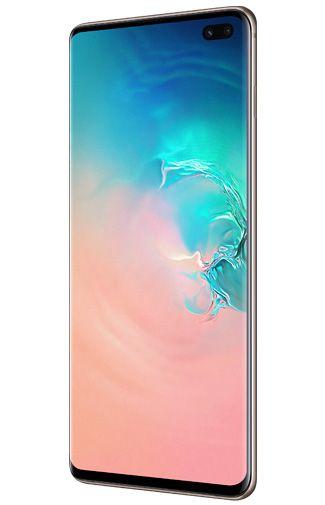 Productafbeelding van de Samsung Galaxy S10+ 128GB G975 Ceramic White