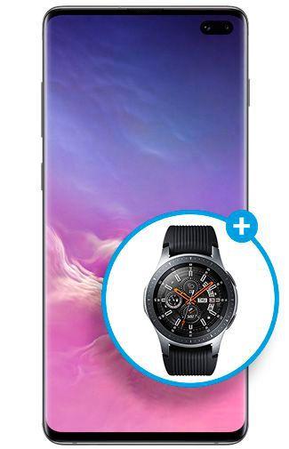 Productafbeelding van de Samsung Galaxy S10+ 1TB G975 Ceramic Black - 10 Year Galaxy Edition
