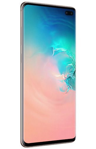 Product image of the Samsung Galaxy S10+ 1TB G975 Ceramic White