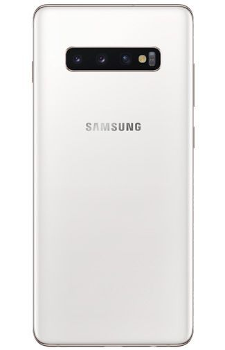 Productafbeelding van de Samsung Galaxy S10+ 512GB G975 Ceramic White