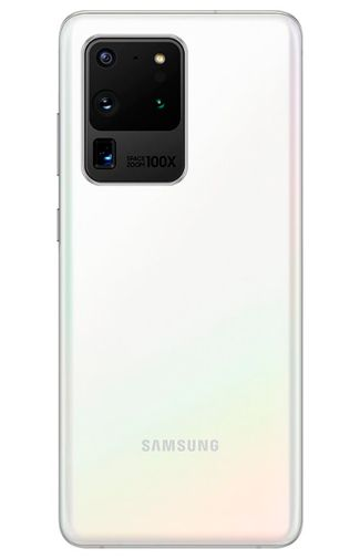 Productafbeelding van de Samsung Galaxy S20 Ultra 5G 128GB G988 White