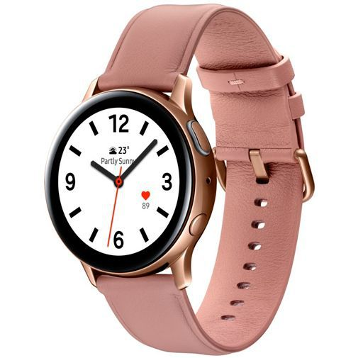 Produktimage des Samsung Galaxy Watch Active 2 40mm SM-R830 Rosegold Stainless Steel