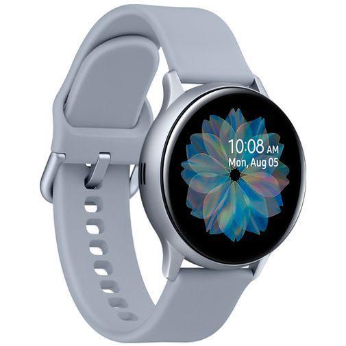 Produktimage des Samsung Galaxy Watch Active 2 40mm SM-R830 Silber Aluminium