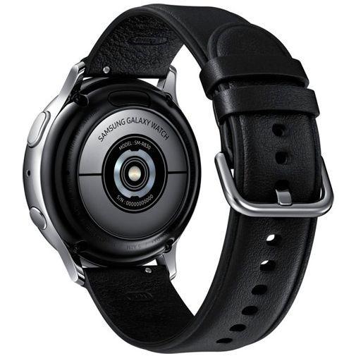 Produktimage des Samsung Galaxy Watch Active 2 40mm SM-R830 Silber Stainless Steel