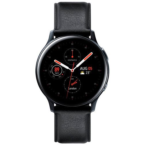 Productafbeelding van de Samsung Galaxy Watch Active 2 44mm SM-R820 Black Stainless Steel