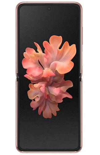 Productafbeelding van de Samsung Galaxy Z Flip F707B Bronze