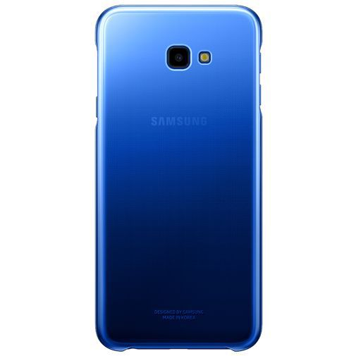 Productafbeelding van de Samsung Gradation Cover Blue Galaxy J4+