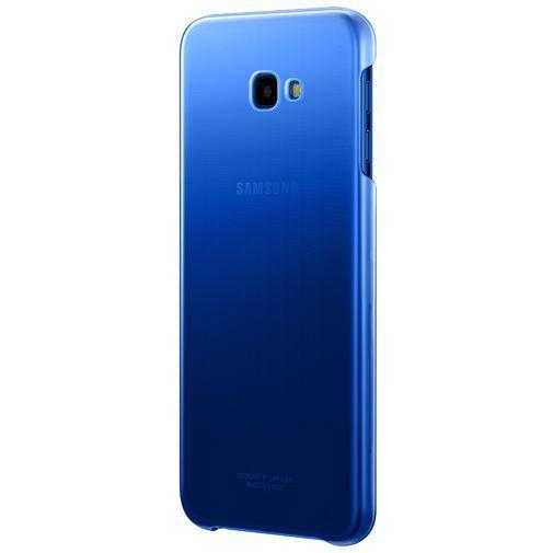 Produktimage des Samsung Gradation Cover Blau Galaxy J4+