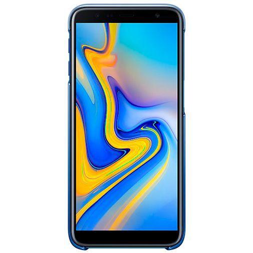 Productafbeelding van de Samsung Gradation Cover Blue Galaxy J6+