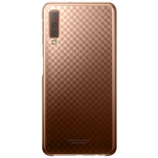 Produktimage des Samsung Gradation Cover Gold Galaxy A7 (2018)