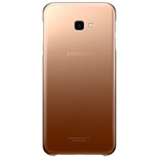 Productafbeelding van de Samsung Gradation Cover Gold Galaxy J4+
