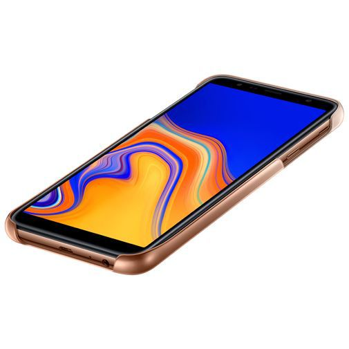 Produktimage des Samsung Gradation Cover Gold Galaxy J4+