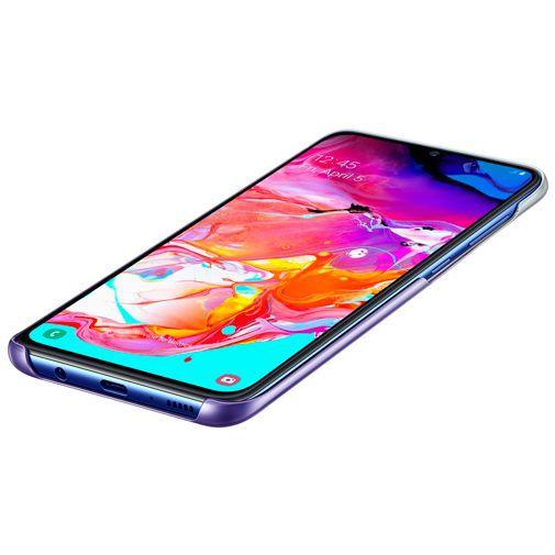 Produktimage des Samsung Gradation Cover Lila Galaxy A70