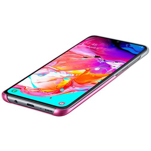 Produktimage des Samsung Gradation Cover Pink Galaxy A70